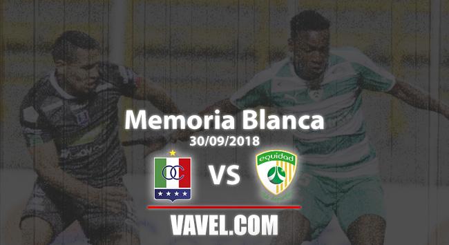 Memoria Blanca, Once Caldas vs La Equidad: empate de visitante ante la 'bestia negra'