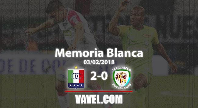 Memoria Blanca, Once Caldas vs Jaguares de Córdoba: debut y victoria para el 'blanco blanco'