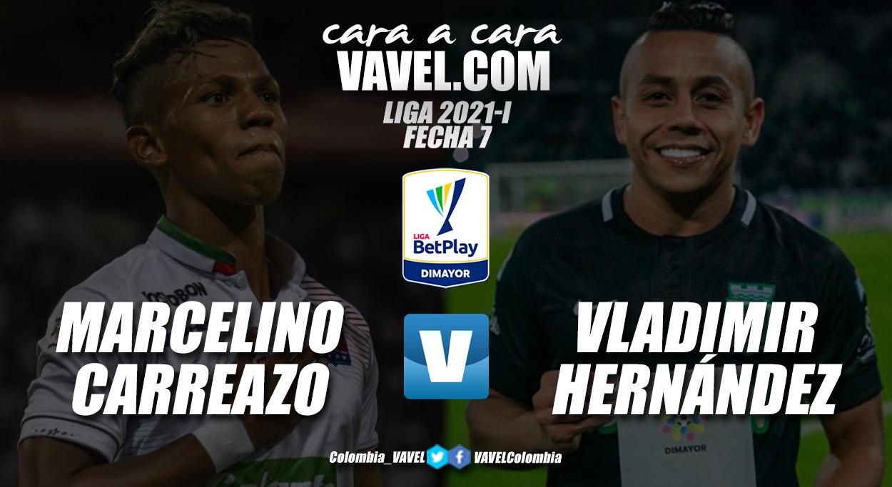 Cara a cara: Marcelino Carreazo vs Vladimir Hernández