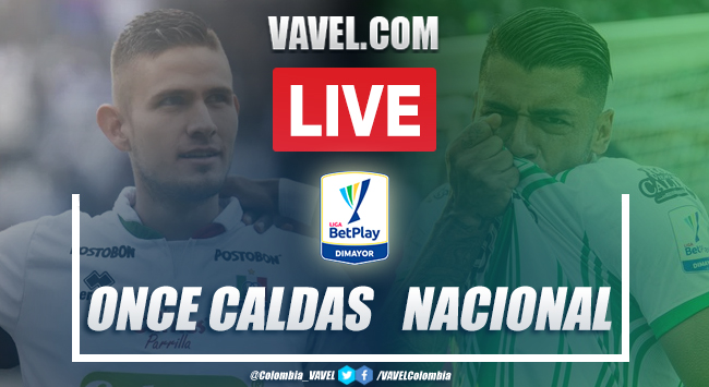 Once Caldas vs Atlético Nacional EN VIVO: transmisión online por Liga BetPlay