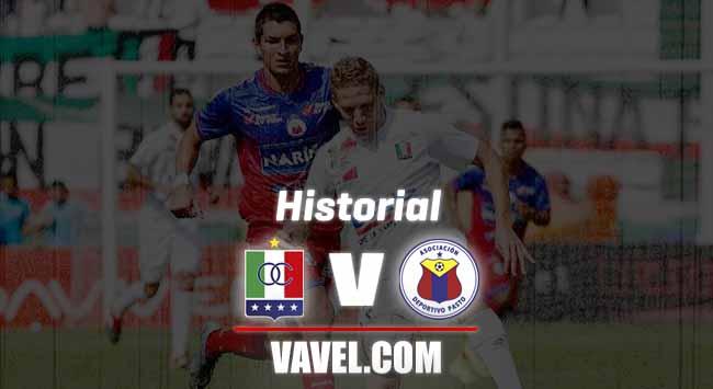Historial Once Caldas vs Deportivo Pasto: una rivalidad pareja