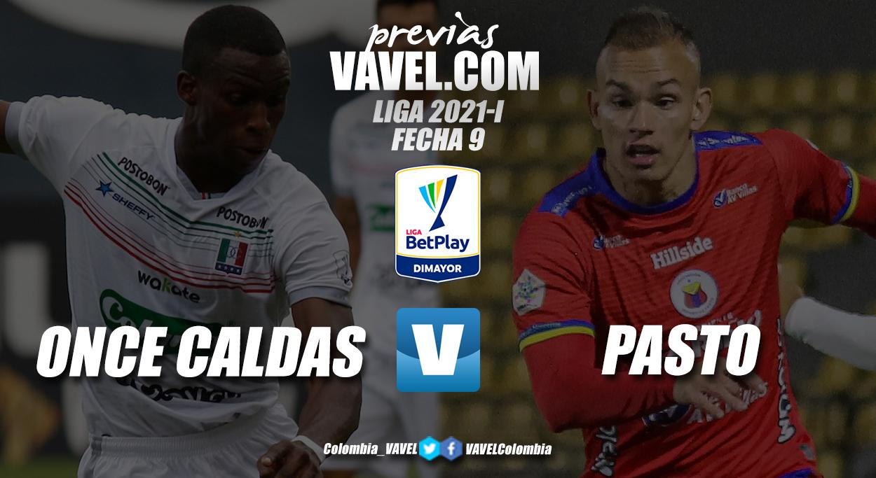Previa Once Caldas vs Deportivo Pasto: llegó la hora de despegar