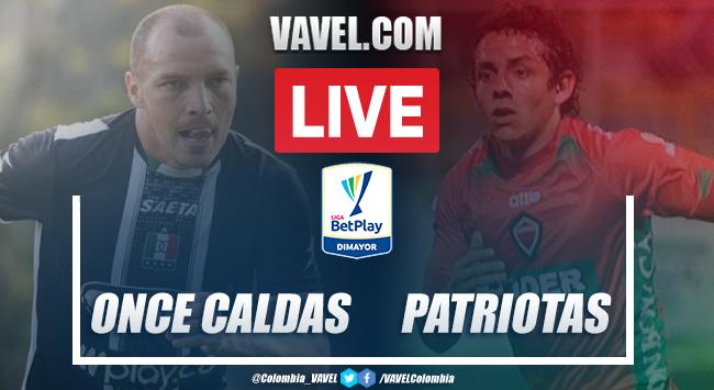Resumen y goles: Once Caldas vs Patriotas por la sexta fecha de la Liga BetPlay (0-0)