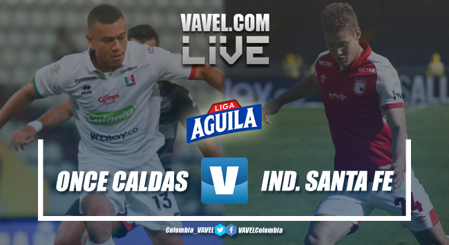 Resumen Once Caldas vs. Santa Fe por la Liga Aguila 2019-II (0-1)