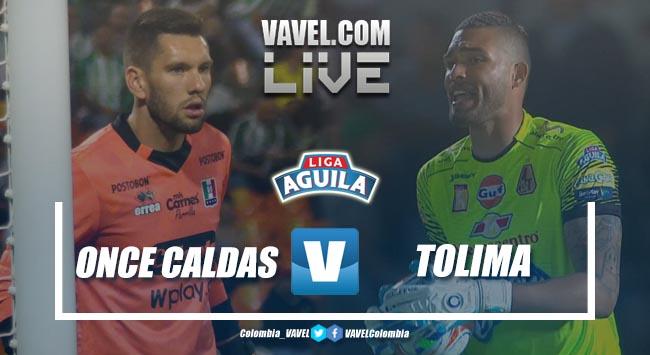 Resumen Once Caldas vs Deportes Tolimapor la Liga Águila 2019-I (2-1)