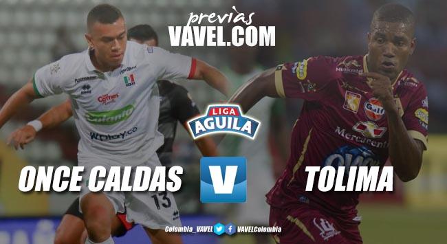 Previa Once Caldas vs Deportes Tolima: el 'manizalita' quiere dejar en blanco al 'pijao'