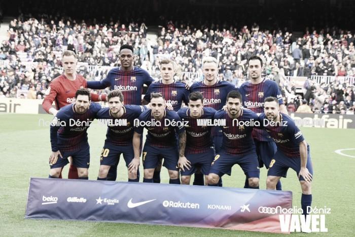 FC Barcelona – Getafe CF: puntuaciones del Barcelona, jornada 23 Liga Santander