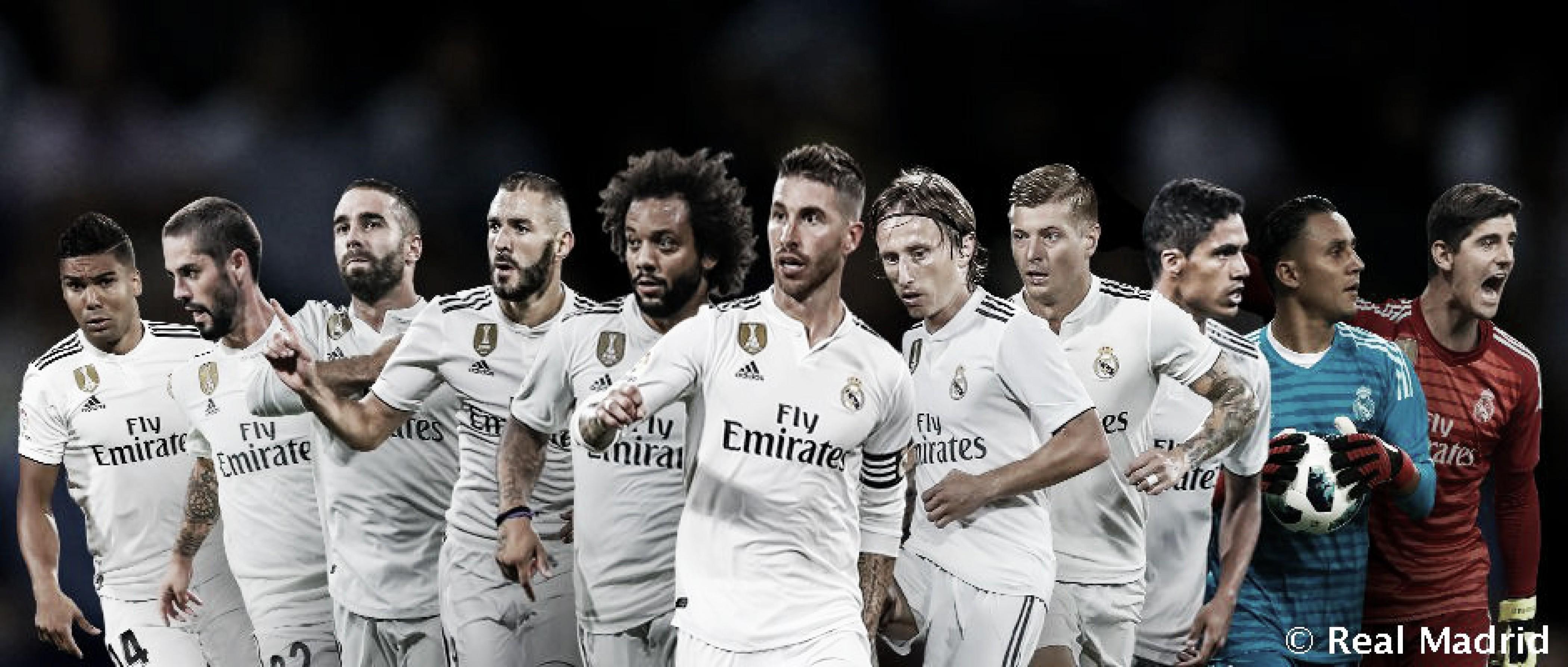 Once madridistas candidatos al Once Mundial de FIFA FIFPRO 2018