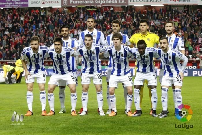 Sporting de Gijón - Real Sociedad: puntuaciones de la Real Sociedad, jornada 21 de la Liga BBVA