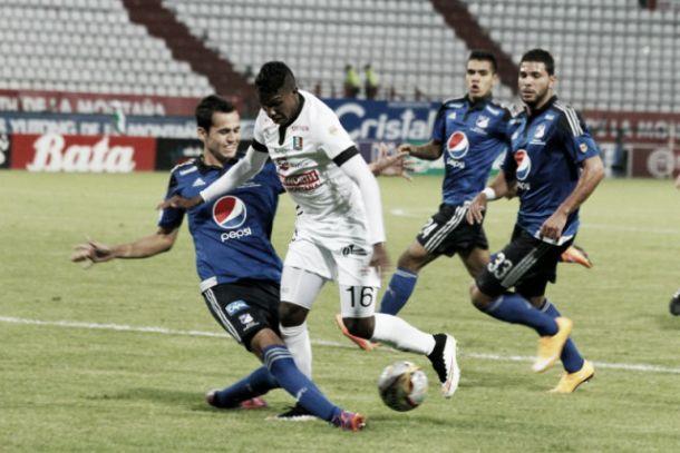 Resultado Millonarios - Once Caldas en la Liga Águila 2015-II (0-0)