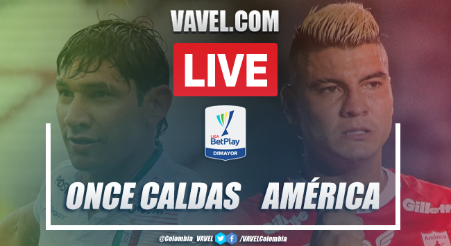 Resumen Once Caldas vs América (1-1)