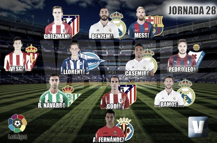 El Once de Oro de VAVEL: 28ª jornada de La Liga