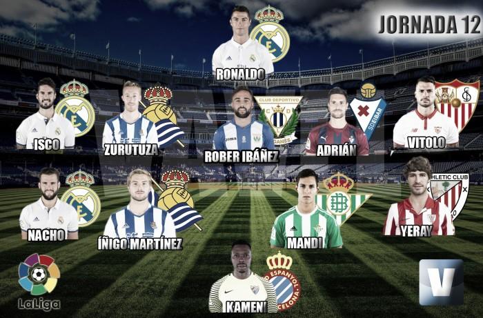 Once de Oro Vavel: 12ª jornada de La Liga