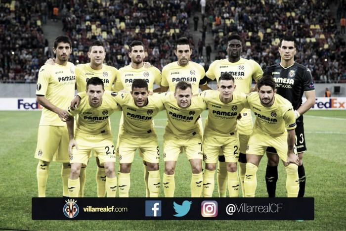 Steaua de Bucarest – Villarreal, puntuaciones Villarreal, 2ª jornada Europa League