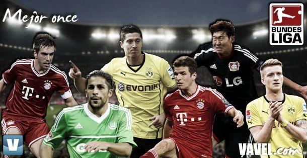 Once ideal de la Bundesliga 2013/2014