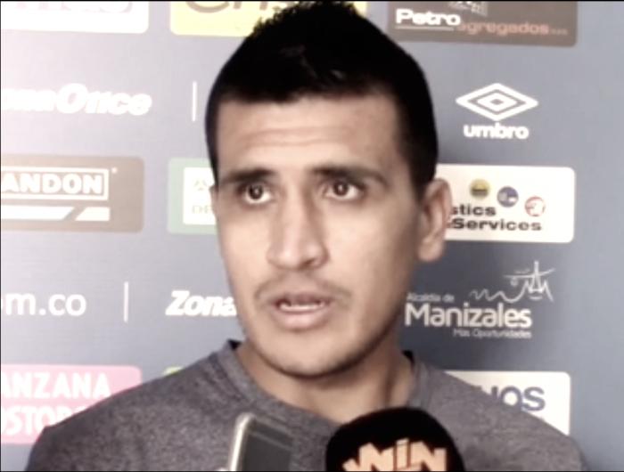 """Jaime Córdoba:""""Esperamos darle una alegría a nuestra gente el sábado"""""""