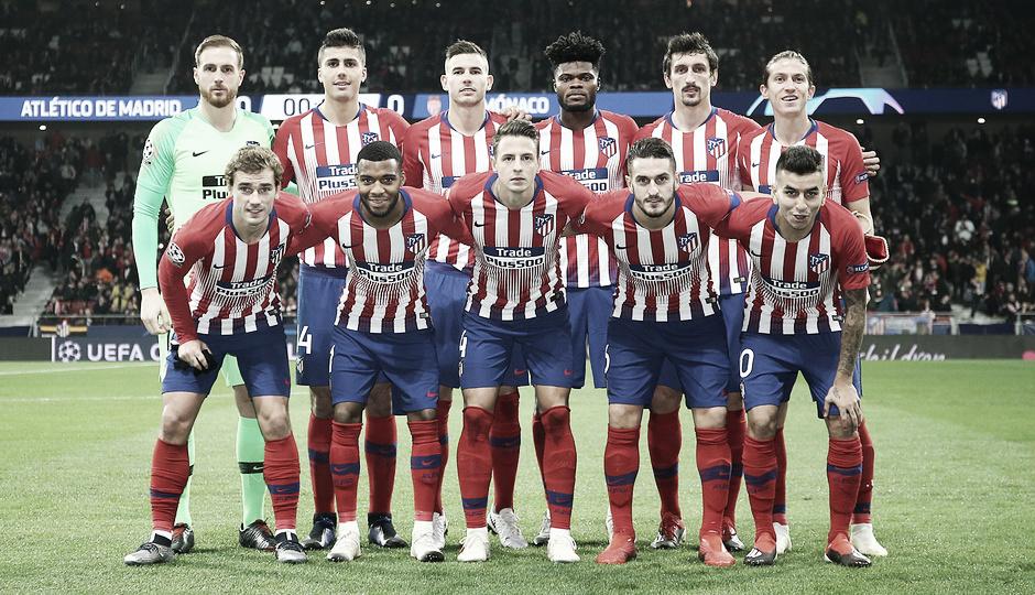 Atlético de Madrid - Mónaco: puntuaciones del Atlético de Madrid, jornada 5 del grupo A de la UEFA Champions League