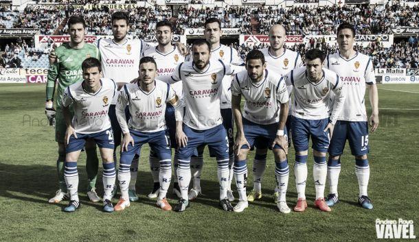 Real Zaragoza- AD Alcorcón: puntuaciones del R.Zaragoza, jornada31 de la Liga Adelante