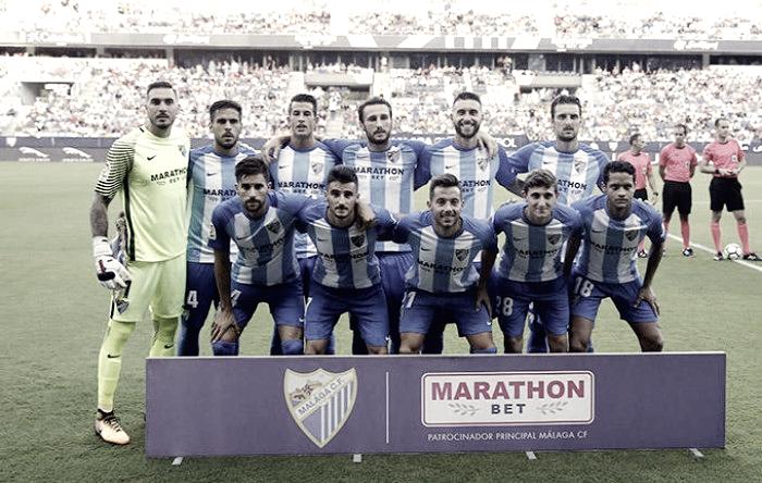 El dato: los antecedentes colocan al Málaga CF, tras no ganar en las siete primeras jornadas, en la Segunda División