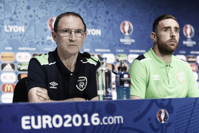 Republic of Ireland relishing tag as 'underdogs' as they prepare to face France