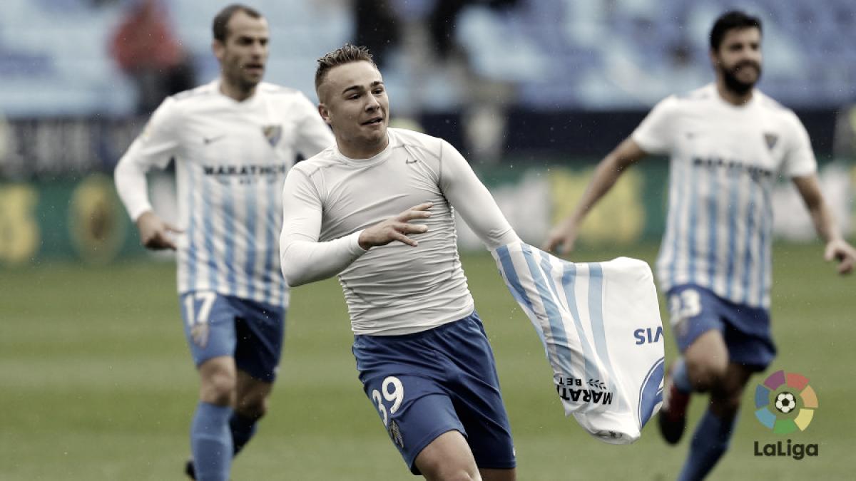 Al Málaga se le da bien el Deportivo