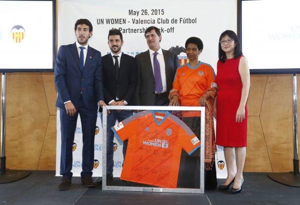 El Valencia y UN Women por la igualdad de género