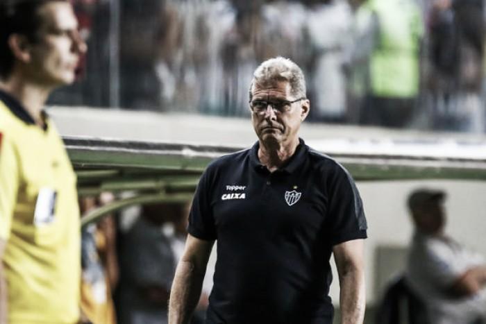 Oswaldo destaca torcida do Atlético-MG após vitória sobre São Paulo
