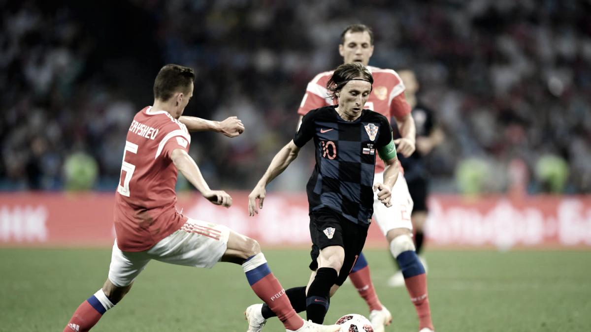 Espectacular torneo de Luka Modric