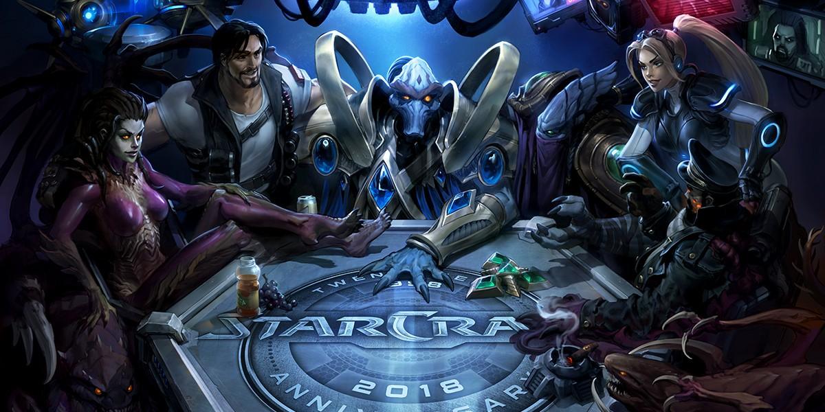 StarCraft comemora 20 anos com homenagens e recompensas