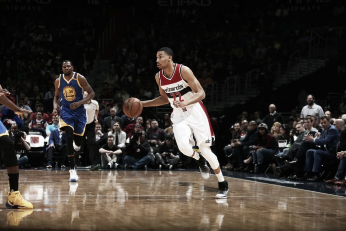 NBA, i Warriors cadono a Washington e perdono Durant (112-108)