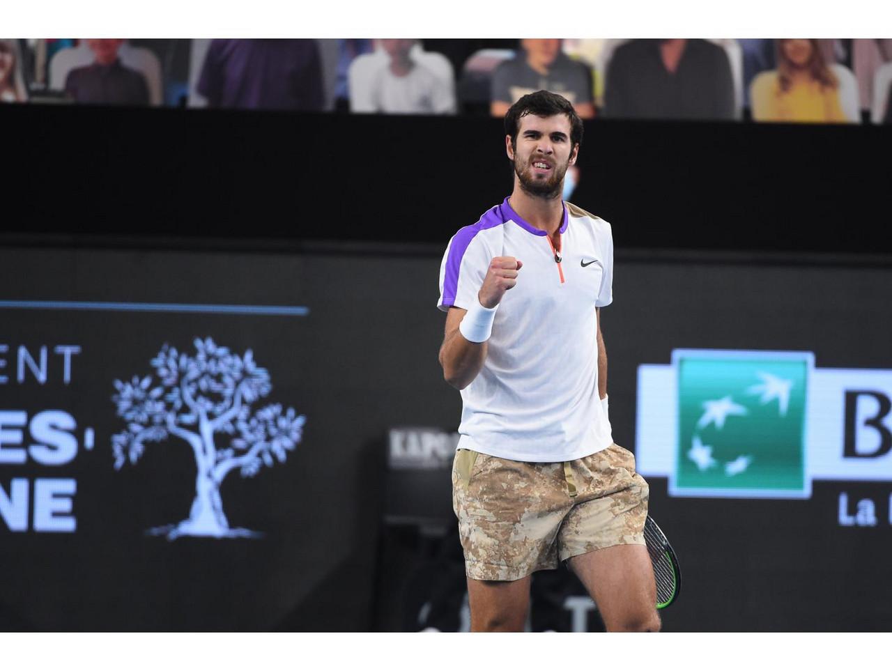 ATP Marseille Day 3 wrapup: Khachanov, Humbert, Sinner advance
