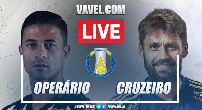 Gols e melhores momentos de Operário-PR 2 x 1 Cruzeiro pelo Brasileirão Série B