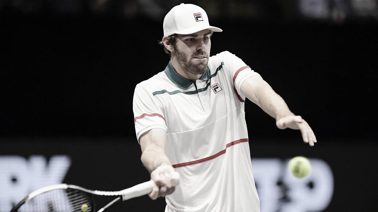 Reilly Opelka venceu Daniil Medvedev no ATP São Petersburgo 2020 (ATP/Divulgação)