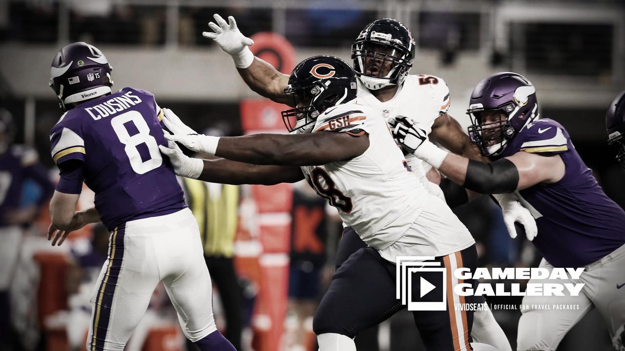 Los Chicago Bears ponen punto y final a la temporada de los Vikings