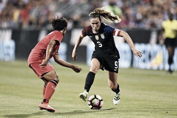 USWNT demolish Thailand in Heather O'Reilly's final match