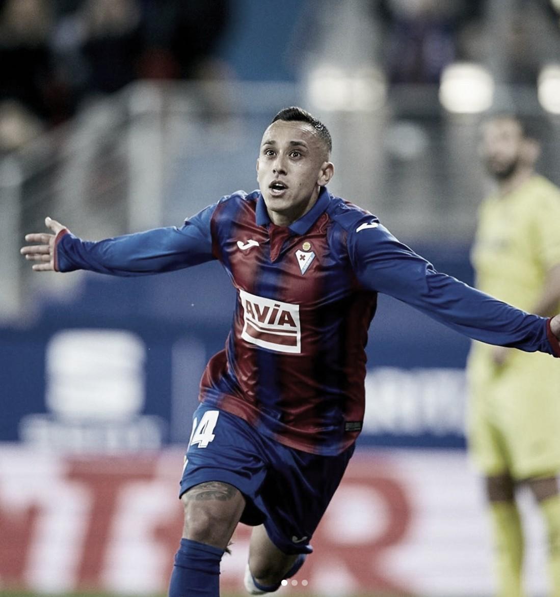 Orellana se despide del Eibar y llegará al Real Valldolid para la próxima temporada