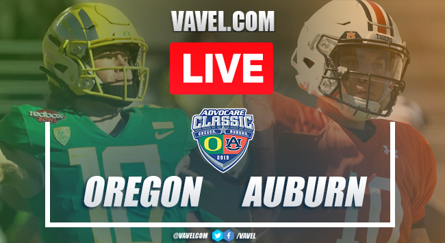 Touchdowns and Highlights: Oregon Ducks 21-27 Auburn Tigers, 2019 College Football