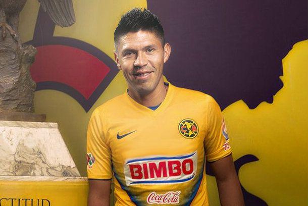 Oribe Peralta llega a Coapa