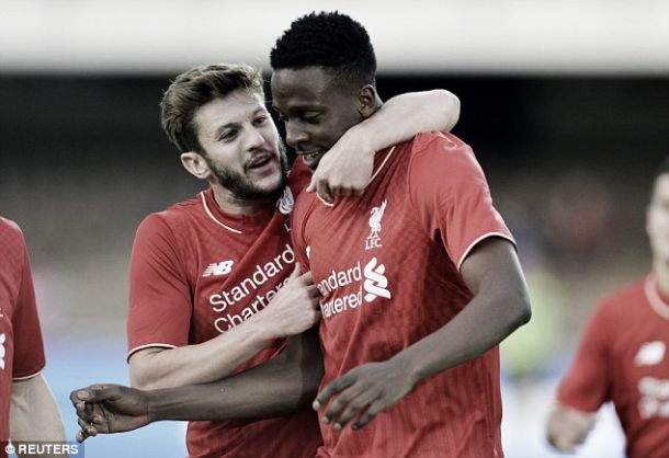 'Giving 200% every day is paying off' says Divock Origi