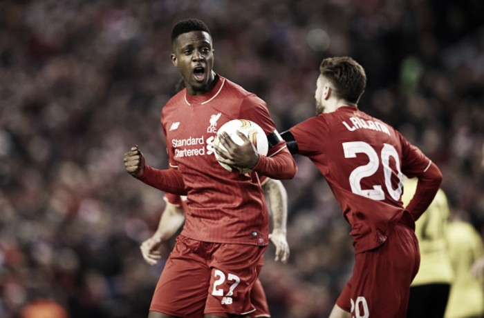 Liverpool hoping striker Divock Origi's back problem nothing too serious