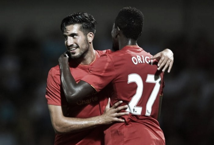 Emre Can and Divock Origi are fitness doubts for Liverpool's trip to Tottenham, admits Jürgen Klopp