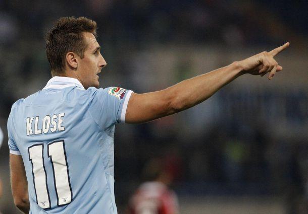 """Klose segna la rotta: """"Questa Lazio mi piace, se vogliamo l'Europa dovremo dare tutto per la maglia"""""""