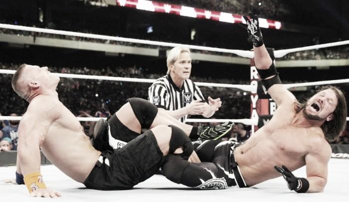 Vista al pasado: AJ Styles vs John Cena, Royal Rumble 2017
