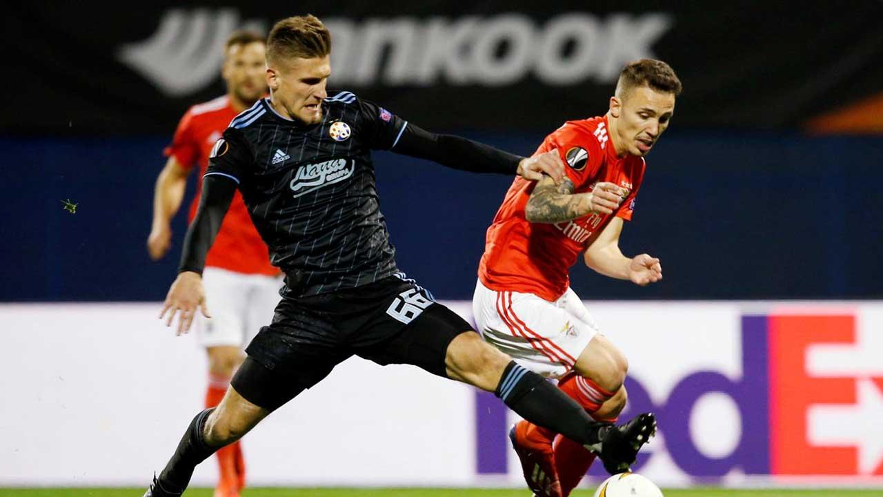 Dínamo de Zagreb vence por 1-0