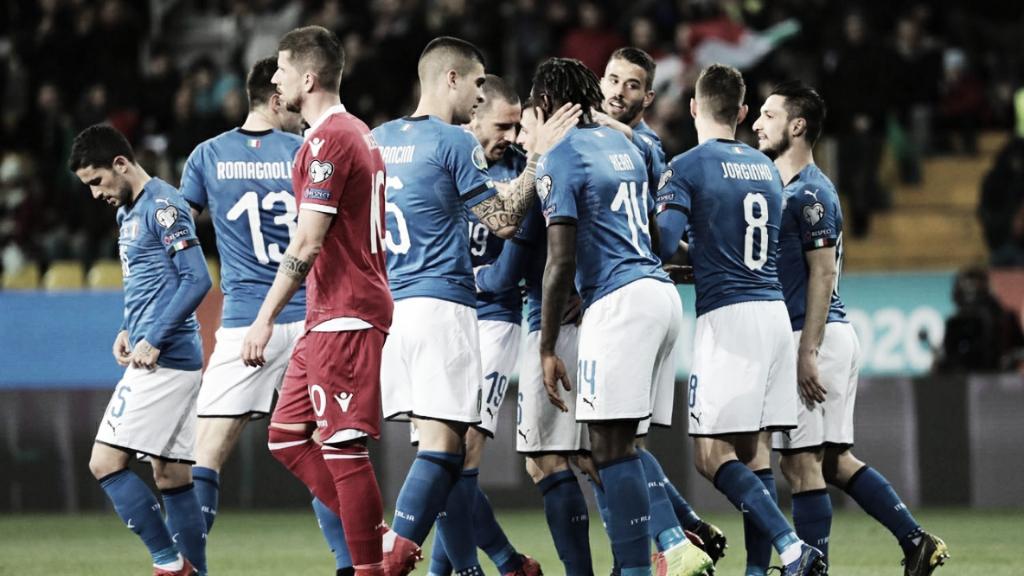 Gols e melhores momentos Armênia 1x3 Itália pelas Eliminatórias da Euro 2020