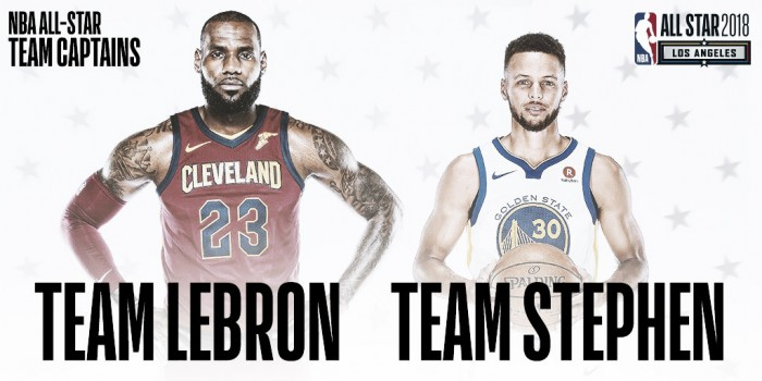 Habemus capitanes: LeBron James y Stephen Curry