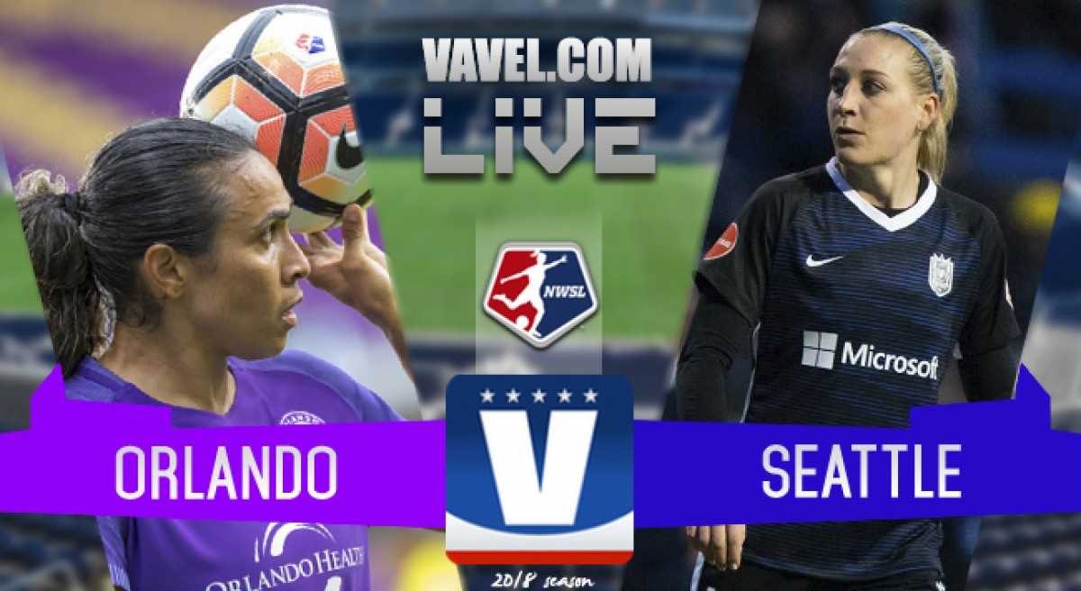 Orlando Pride 1-1 Seattle Reign FC in 2018 NWSL