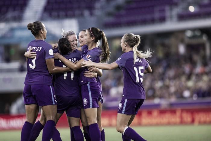Orlando Pride defeats FC Kansas City in a 4-1 convincing win