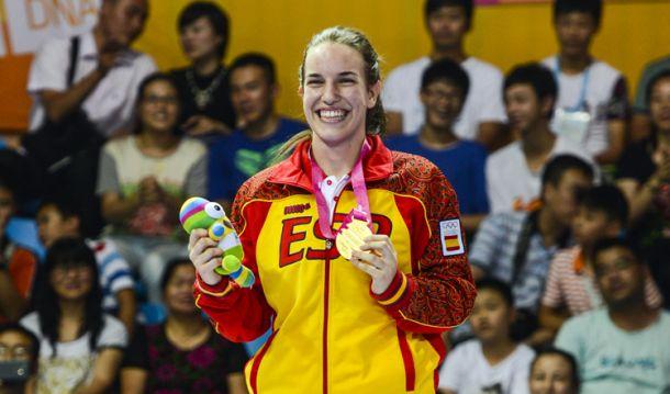 Lucía Togores, primer oro español en Nankín