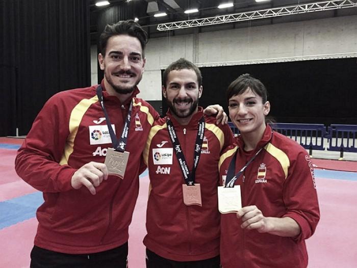España consigue cuatro oros en el europeo de kárate
